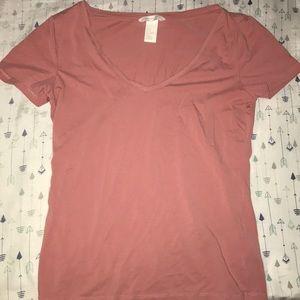 Soft pink shirt!